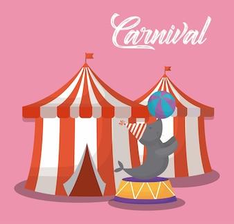 Circus carnival design