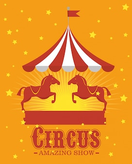Circus carnival entertainment