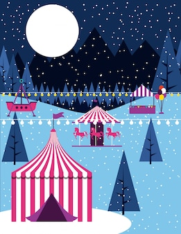 Circus people fair
