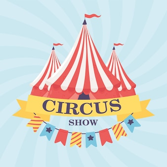Circus show banner
