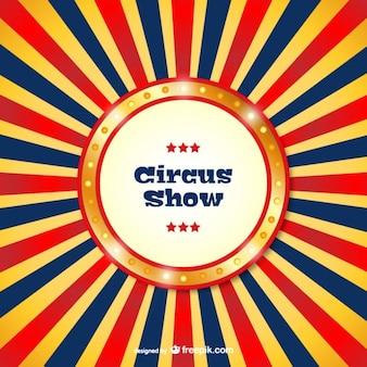 Цирковое представление шаблон