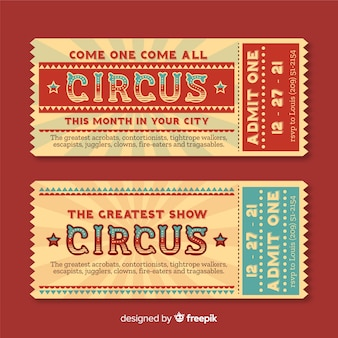 Circus ticket