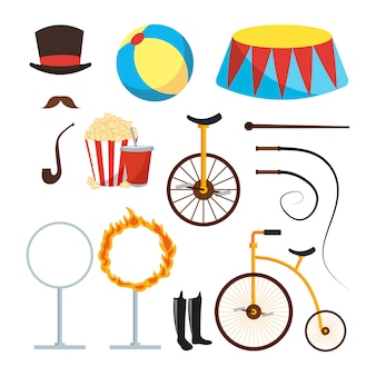 Circus trainer items