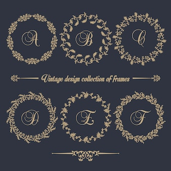 Cirlleフレームのヴィンテージデザインコレクション