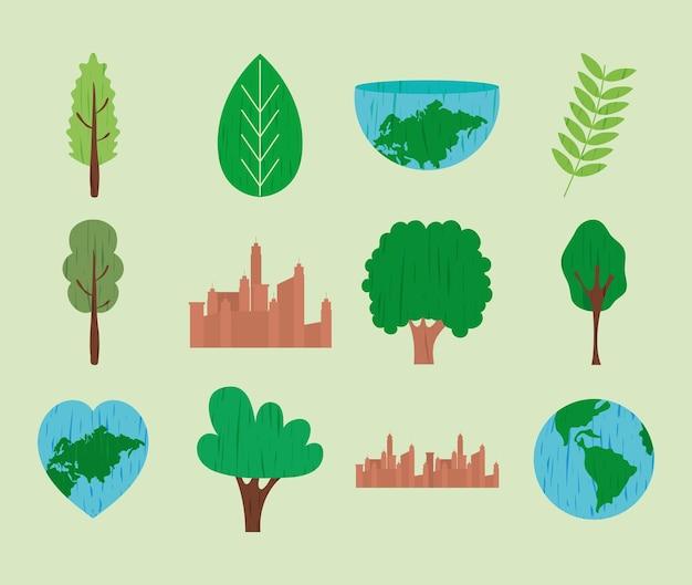 都市と自然