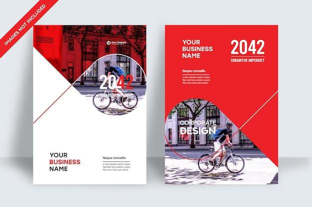 A4에서 도시 배경 비즈니스 책 표지 디자인 템플릿입니다. 브로셔, 연례 보고서, 잡지, 포스터, 기업 프레젠테이션, 포트폴리오, 전단지, 배너, 웹사이트에 적용할 수 있습니다.