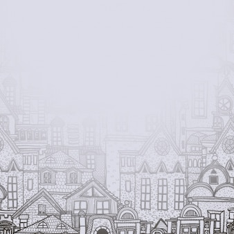 City buildings background design