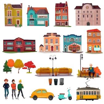 Set ambiente urbano