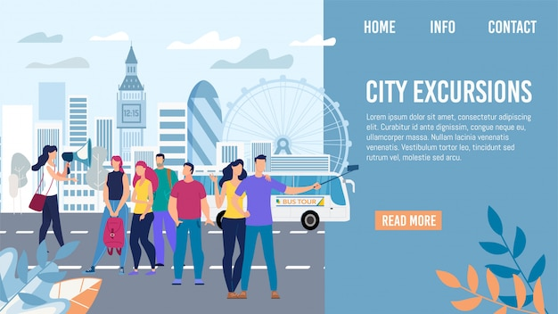City excursions in europe voyage  webpage