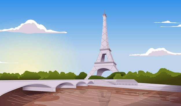 City landmarks - background for video conferencing