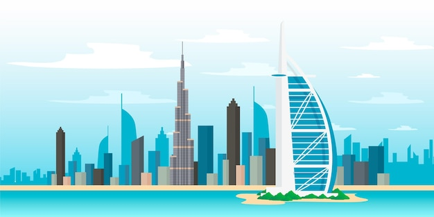 City landmarks background for video conferencing