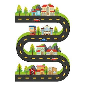 シティマップの設計