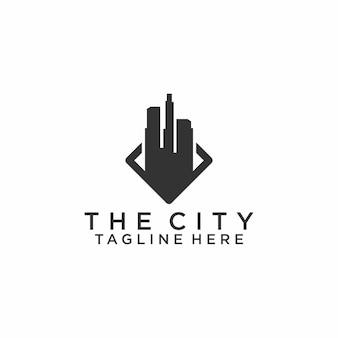 City scape logo concept vector