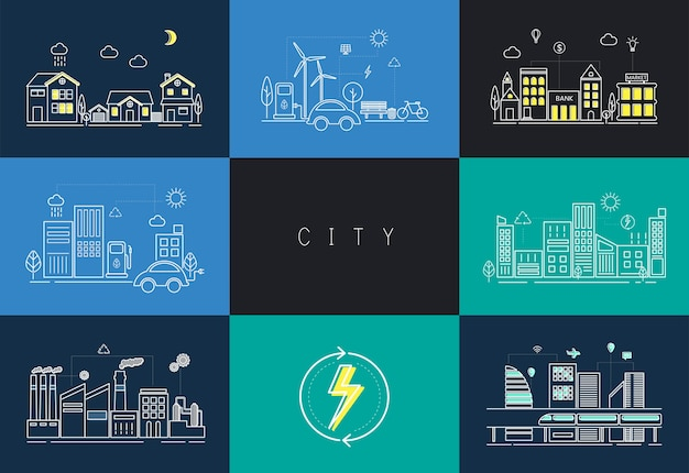 Городской набор