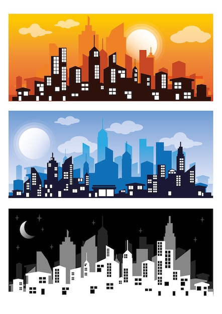 city silhouette vectors photos and psd files free download rh freepik com city silhouette vector png london city silhouette vector