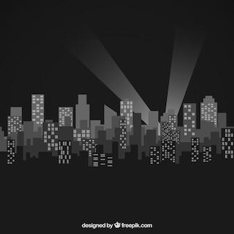 도시 실루엣