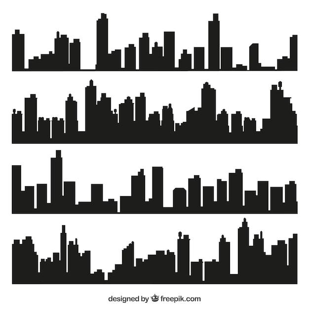 skyline vectors photos and psd files free download rh freepik com city skyline vector png city skyline vector images