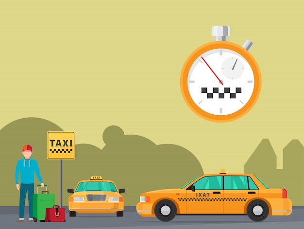 City taxi transportation service