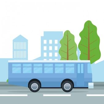 Городской транспорт и мультфильмы мобильности