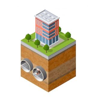 City underground urban