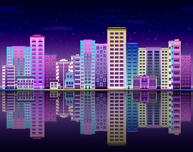 都市の景観、都市の超高層ビル