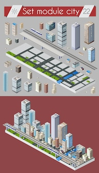 Cityscape design elements