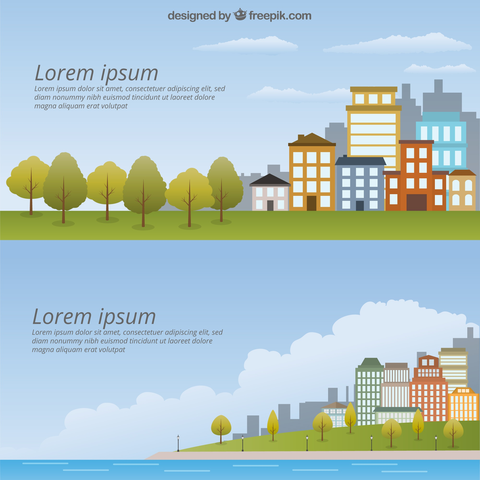 Cityscape Template Pack