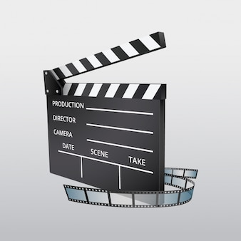 Clapboard background design