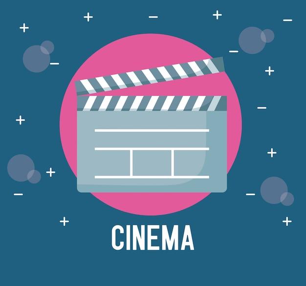 Clapboard director of cinema
