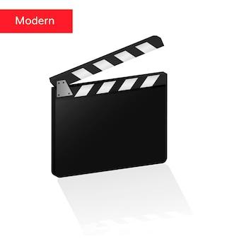 Clapper board 3d realistic