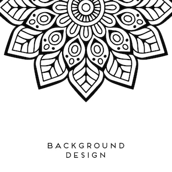 Clasical mandala design