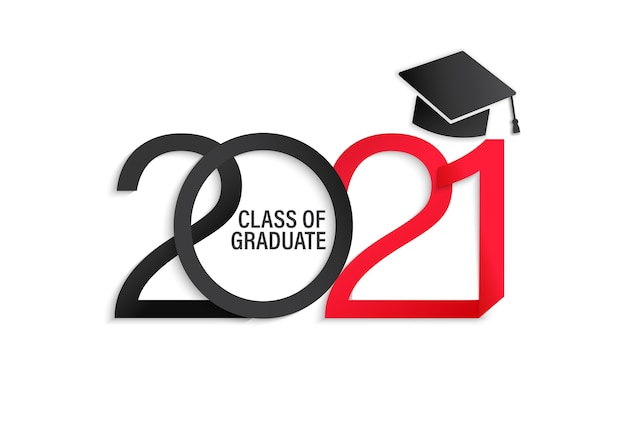 Class of  elegant card in black and red colors for banners