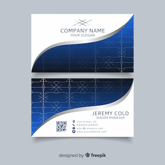 Classeic elegant business card template