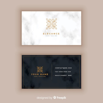 Classeic elegant business card template
