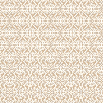 Classic abstract pattern with brown color