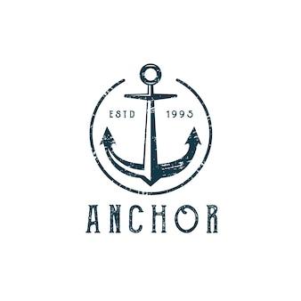 Classic anchor logo vintage 1993