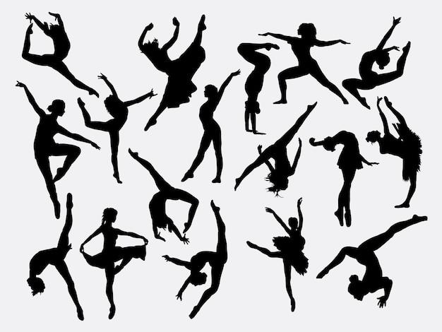 Классический и современный танцевальный силуэт