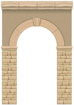 Классическая античная арка
