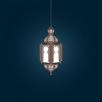 Classic arabian style lantern