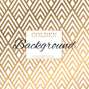 Classic art deco  gold pattern texture background
