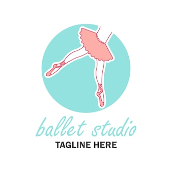 Classic ballet logo
