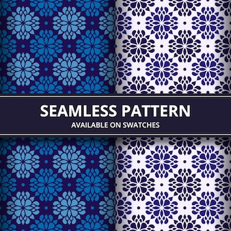 Classic batik seamless pattern background. luxury mandala wallpaper. elegant traditional floral motif