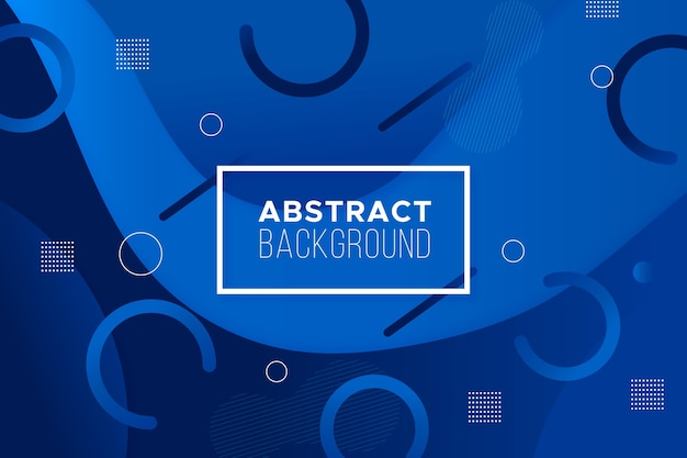 Classic blue background abstract design