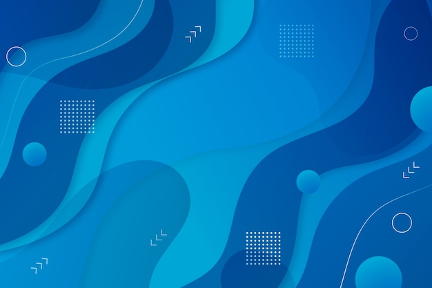Classic blue background abstract style