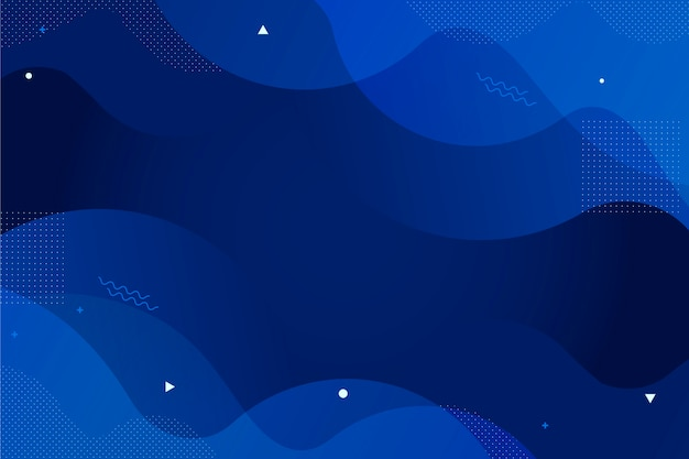 Classic blue wallpaper abstract style