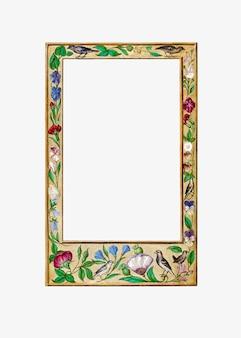 Classic botanical frame