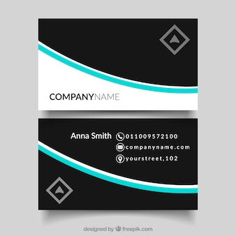 Classic bussines card template