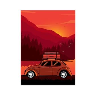 Classic car the adventure