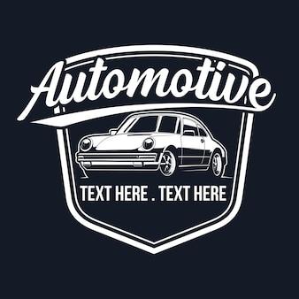 Classic car logo