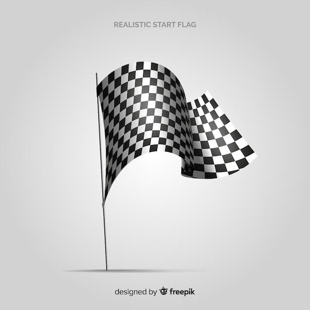 Free Classic Checkered Flag With Realistic Design Svg Dxf Eps Png Best Free Svg Cut Files